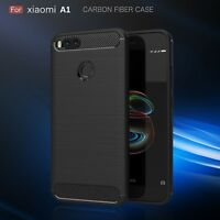 Handy Hülle für Xiaomi Mi A1 Case Schale TPU dünn schwarz 2.Haut Armour 5,5 Zoll