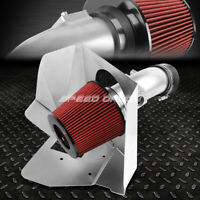 """FOR 07-11 CAMRY/-16 VENZA V6 3.5 COATED ALUMINUM 4""""COLD AIR INTAKE+HEAT SHIELD"""