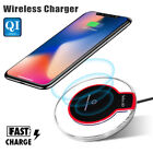 Qi Wireless Charger Fast Charging Pad For iphone 13 12 11 Pro Max 8 XR X Xs Max
