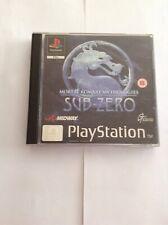 Ps1 Sub Zero Mortal Kombat