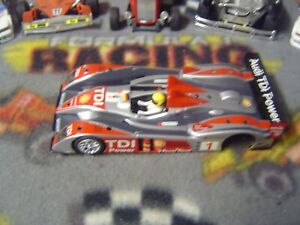 1/32 Avant Slot #1 AUDI R10/LMP body with bare chassis but needs motor pod-used