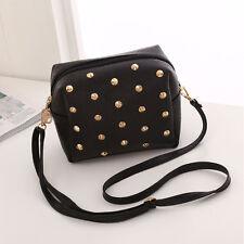 Women little Stud Purse Satchel Message Shoulder Small Bag Girl's Handbag New
