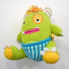 Sock Closet Monster Baby Aspen Adorable Green Plush Stuffed Animal Toy Calvin