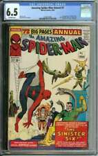 AMAZING SPIDER-MAN ANNUAL #1 CGC 6.5 OW PAGES