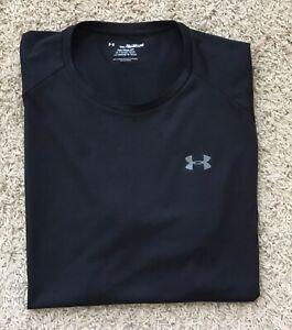 Under Armour The Tech Tee Black Short Sleeve Shirt Sz 3XL