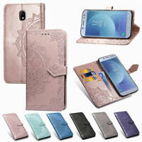 Magnetic Leather Flip Wallet Card Case Cover For Motorola Moto G7 Play G7 power