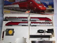 MEHANO H0 T680 Thalys Hochgeschwindigkeitszug, komplett mit Pult u. Gleisen OVP.
