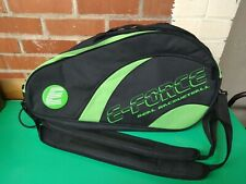 E-force 2012 Racquetball Club Bag Black/Green new without tags sanitized