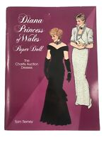 Diana Princess of Wales Paper Doll Book The Charity Auction Dresses 1997