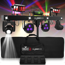 Chauvet DJ GigBar Move All in One Light System Derby Par Laser Moving Head Demo