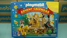 Playmobil 4163 Emperor's Knights Tournament Christmas Calendar mint in Box NEW