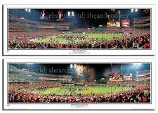 🏆 St Louis Cardinals 2006 & 2011 World Series Champions Panoramic Print Set 🏆