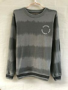 Rip Curl Mens Crew Neck Sweater Jumper Cotton Terry Pullover Sweatshirt Tops M L