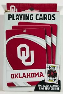 Oklahoma Sooners (OU) Playing Cards Pack