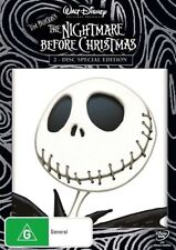 The Nightmare Before Christmas Deleted Scenes G Rated DVDs & Blu-ray Discs