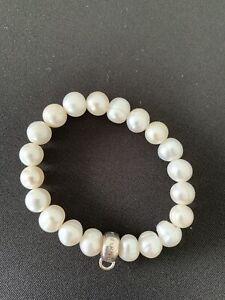 Thomas Sabo Armband Perlen und Silber, Gr. S, Wie Neu