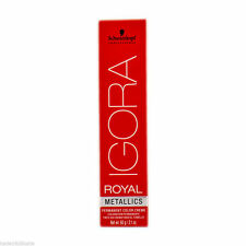 Schwarzkopf Igora Royal Metallics 8-29 Permanent Hair Color 60ml Professional
