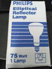 (Case of 24) Philips 75ER30-120V 75W Bulbs NOS