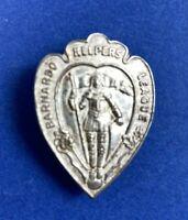 Vintage Barnado Helpers League Charity Metal Pin Badge