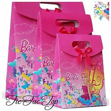 6X Barbie Doll Girl PARTY PAPER LOOT LOLLY GIFT BAG Girls Party Supplies