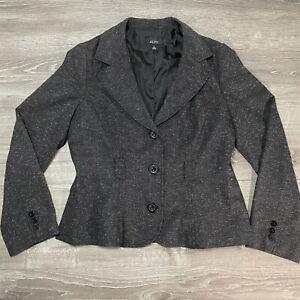 ALYX Blazer Jacket Women Three Button Dark Gray Pre Owned