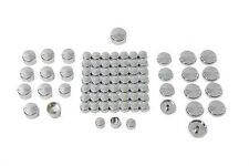 Chrome Bolt Cap 77 Piece Cover Kit For Harley-Davidson Sportster 2004 And Later