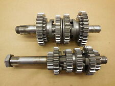 1980 Yamaha YZ100 Transmission assembly gears shafts gear shaft 80 YZ 100