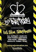 Rejuvenation – 5th Birthday – Old Skool Warehouse CD Pack (REJCD001)