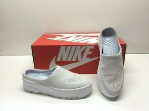 Nike AF1 Air Force One Lover XX Off White Mules Clogs Slip On Shoes Womens 8.5