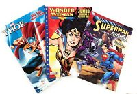 Superman Wonder Woman Thor Jumbo Coloring and Activity Books 3 Pack Bundle Gift