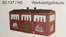 Artmaster 80.137 Werkstattgebäude  H0 1:87 Neu / OVP