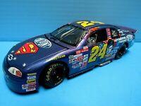 JEFF GORDON #24 SUPERMAN DUPONT NASCAR RACING CHEVY MONTE CARLO STOCK CAR ~ 1/24