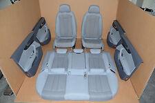 Audi a4 b9 8w Limousine cuero equipamiento Leather sustancia gris sede Leather seat