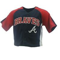 Atlanta Braves Official MLB Genuine Infant Toddler Size Jersey New with Tags