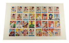 Lot of (16) Goudey 1933 Baseball Reprint Sheets (32 Cards Ea) DiMaggio Williams