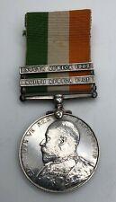 More details for boer war ksa medal tuff 1st northumberland fusiliers sunderland raf died train