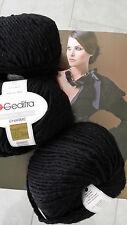 600g Fashion Trend Charme GEDIFRA Schachenmayr WOLLE Schwarz MERINO NATUR Luxus