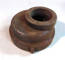 """Cast Iron  Threaded Eccentric Reducer Coupling 2"""" x 3-1/2"""""""