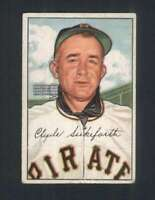 1952 Bowman #227 Clyde Sukeforth VG/VGEX RC Rookie Pirates CO 102361