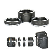 Macro Extension Ring Mount Tube Kit Set for Camera Photo Canon EOS EF / EFS Lens