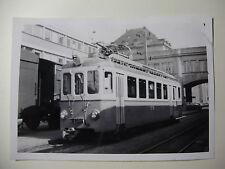 SUIS588 - 1960s TROGEN BAHN - TRAIN PHOTO Switzerland