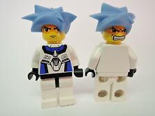 LEGO Minifigur Exoforce Hikaru mit Doppelgesicht exf005 Set 5966 7700 7709