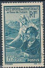 CO - TIMBRE DE FRANCE N° 417 oblitéré