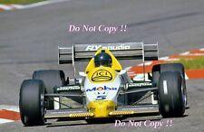 Jacques Laffite Williams FW09B German Grand Prix 1984 Photograph 2