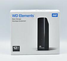 Western Digital 12TB Elements externe Festplatte USB3.0 -WDBWLG0140HBK-EESN NEU