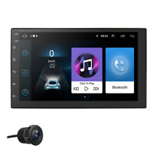 Double 2DIN Android 9.0 Bluetooth Car Unit Radio 7'' HD FM Stereo MP5 GPS Player