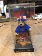 World of Miniature Bears UNCLE SAM # 681 by Sherri Dobson New