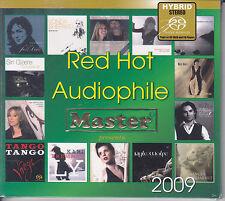 """Red Hot Audiophile 2009"" Master Music Stereo Hybrid SACD CD Brand New Sealed"