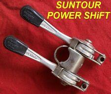 Vintage Original Suntour  POWER SHIFT Stem Shifters Road Bike, USED VERY GOOD