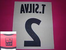 Flocage officiel PSG Paris T. SILVA 2011 2014 extérieur